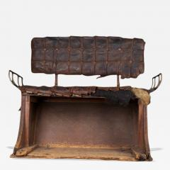 1850s 1870s Horse Carriage Bench - 95825