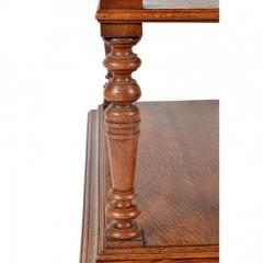 1860s Style French Oak Server Henry II Style - 176814