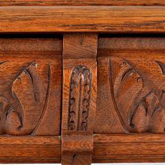 1860s Style French Oak Server Henry II Style - 176815