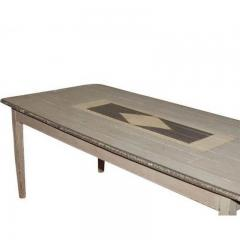 1870 Gray Painted Farm Table - 1965529