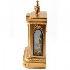 1870s Antique French Sevres Porcelain Ormolu Clock - 176771