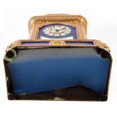 1870s Antique French Sevres Porcelain Ormolu Clock - 176773