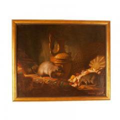 1878 Armand Manuel Le Diner Des Rats Oil Painting - 1965802