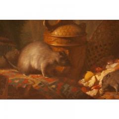 1878 Armand Manuel Le Diner Des Rats Oil Painting - 1965803