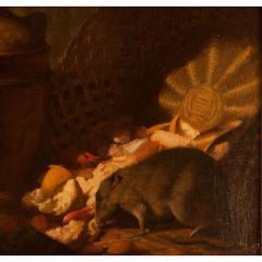 1878 Armand Manuel Le Diner Des Rats Oil Painting - 1965805