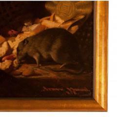 1878 Armand Manuel Le Diner Des Rats Oil Painting - 1965806