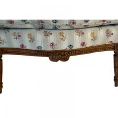 1880s French Fruitwood Louis XVI Style Bergere Chair - 1719795