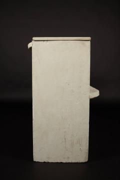 1890s White Washed Church Pew - 95889