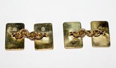 18K Gold Card Cufflinks - 1162804