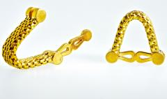 18K Gold Cufflinks circa 1960 - 1201256