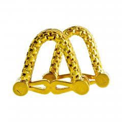 18K Gold Cufflinks circa 1960 - 1203543