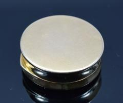 18K Gold Guilloche Enamel Astrological Pill Box - 304789