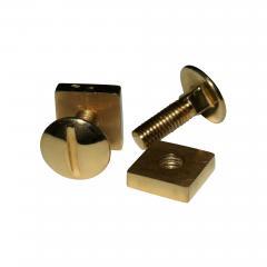 18K YG Screw and Nut Cufflinks - 1717746