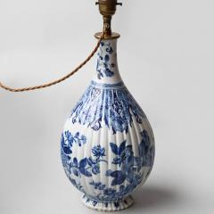 18TH CENTURY DELFT VASE CONVERTED TO A LAMP - 1834795