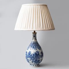 18TH CENTURY DELFT VASE CONVERTED TO A LAMP - 1834798