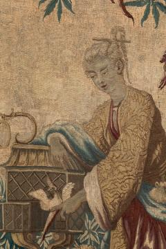 18TH CENTURY LOUIS XV AUBUSSON CHINOISERIE TAPESTRY - 994338