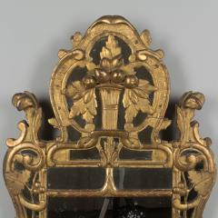 18th C French R gence Carved Giltwood Mirror - 522273