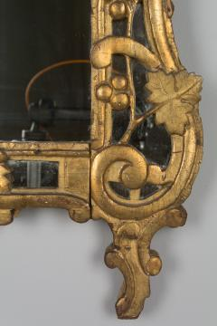 18th C French R gence Carved Giltwood Mirror - 522281