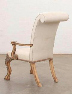 18th C Style Carved Italian Perugian Arm Chairs - 2009723