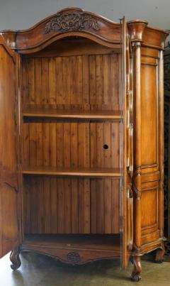 18th C Style Gregorius Pineo Italian Country Style Linen Press Armoire - 2057277