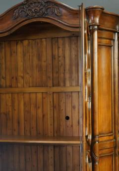 18th C Style Gregorius Pineo Italian Country Style Linen Press Armoire - 2057278