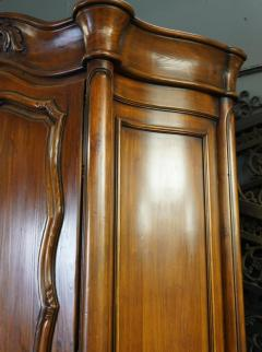 18th C Style Gregorius Pineo Italian Country Style Linen Press Armoire - 2057284