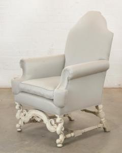 18th C Style Louis XIV Swedish Upholstered Arm Chair - 2142194