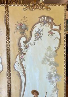 18th C Style Maria Apelo Cruz Venetian Painting Panels Verna Harrah Estate - 2076625