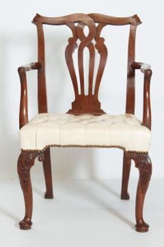 18th Century Chippendale Mahogany Armchair - 1937218