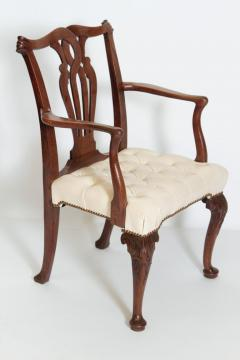 18th Century Chippendale Mahogany Armchair - 1937219