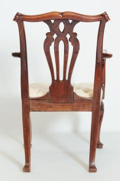 18th Century Chippendale Mahogany Armchair - 1937222