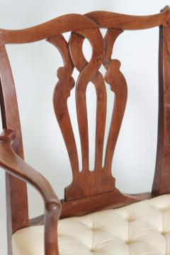 18th Century Chippendale Mahogany Armchair - 1937224