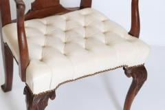18th Century Chippendale Mahogany Armchair - 1937227