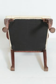 18th Century Chippendale Mahogany Armchair - 1937231