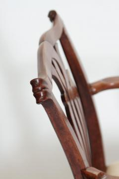 18th Century Chippendale Mahogany Armchair - 1937232