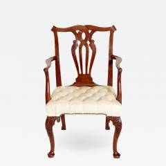 18th Century Chippendale Mahogany Armchair - 2028449