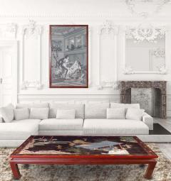 18th Century Coromandel Screen Large Chinese Coffee Table - 2073440