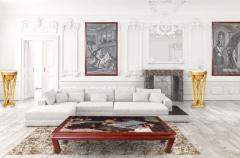 18th Century Coromandel Screen Large Chinese Coffee Table - 2073441