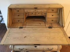 18th Century Dutch Bombe Secretaire Desk - 298978