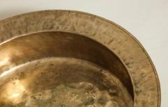 18th Century English Brass Dairy Bowl - 645072