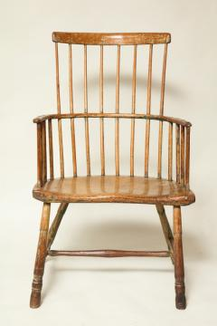 18th Century English Comb Back Windsor Armchair   294249