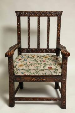 18th Century English Folk Art Chair - 664791
