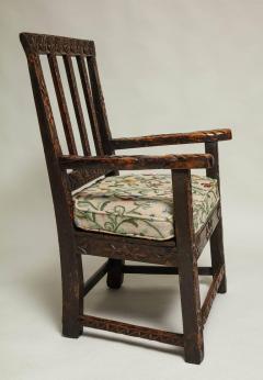 18th Century English Folk Art Chair - 664796