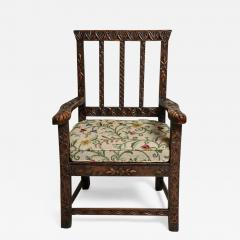 18th Century English Folk Art Chair - 665138