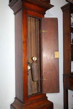 18th Century English Oak Tallcase Clock - 263664