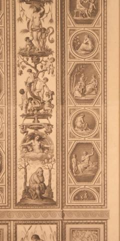 18th Century Engraving of Rafael s Fresco - 2066970