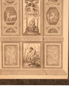 18th Century Engraving of Rafael s Fresco - 2066972