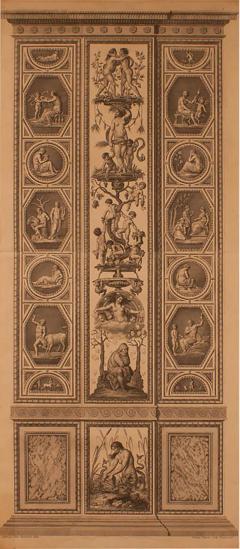 18th Century Engraving of Rafael s Fresco - 2068788