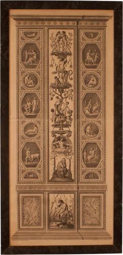 18th Century Engraving of Rafael s Fresco - 2068794