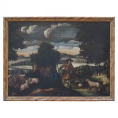 18th Century European Pastoral Landscape - 1914278